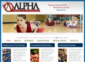 SEO and Website Design for Alpha Sports & Nutrition